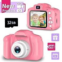 Seckton Upgrade Kids Selfie Camera, Best Birthday Gifts for Girls Age 3-9, HD Digital...