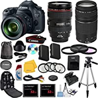Canon EOS 5D Mark III 22.3 MP Full Frame CMOS Digital SLR Camera Bundle with Accessory Kit (29 Items) Explained Review Image