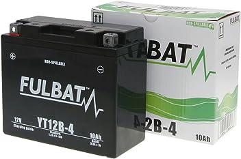 Fulbat YT4B-BS Waterproof Motorcycle Battery 12 V 2.4 Ah