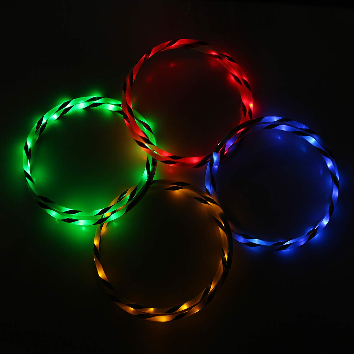 Wuchance Colorido 90cm Plegable LED Flash Light Fitness Fitness Fitness Light Toy (Color : Azul) 3d1dca
