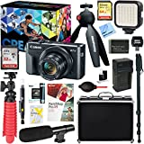 Canon PowerShot G7 X Mark II 20.1MP 4.2x Optical Zoom Digital Camera Video Creator Kit + Universal Microphone & 64GB Accessory Bundle