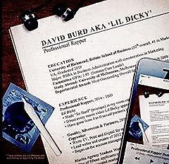 DAVID BURK AKA. LIL DICKY - PROFESSIONAL RAPPER - 2 CD SET