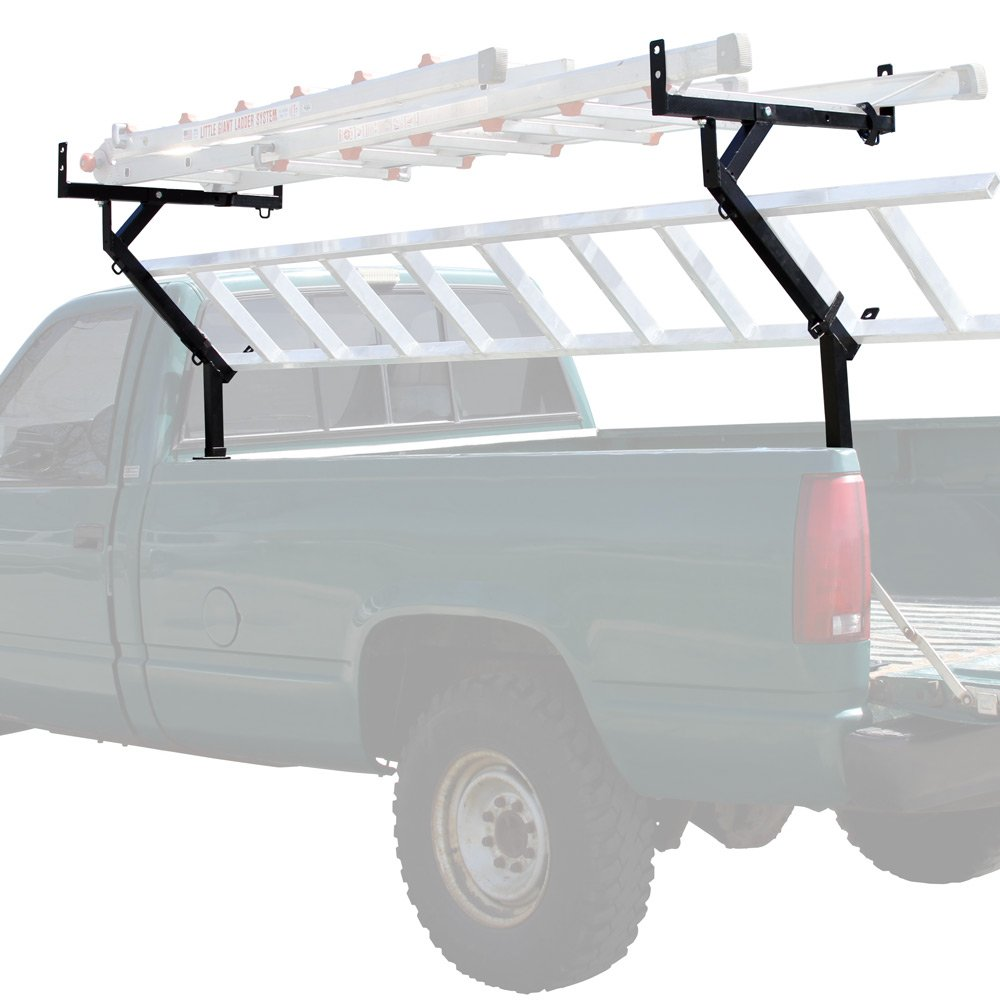 Rage Powersports TLR-3-V2 Pickup Truck Bed Ladder, Pipe, Lumber and Material Rack by Rage Powersports