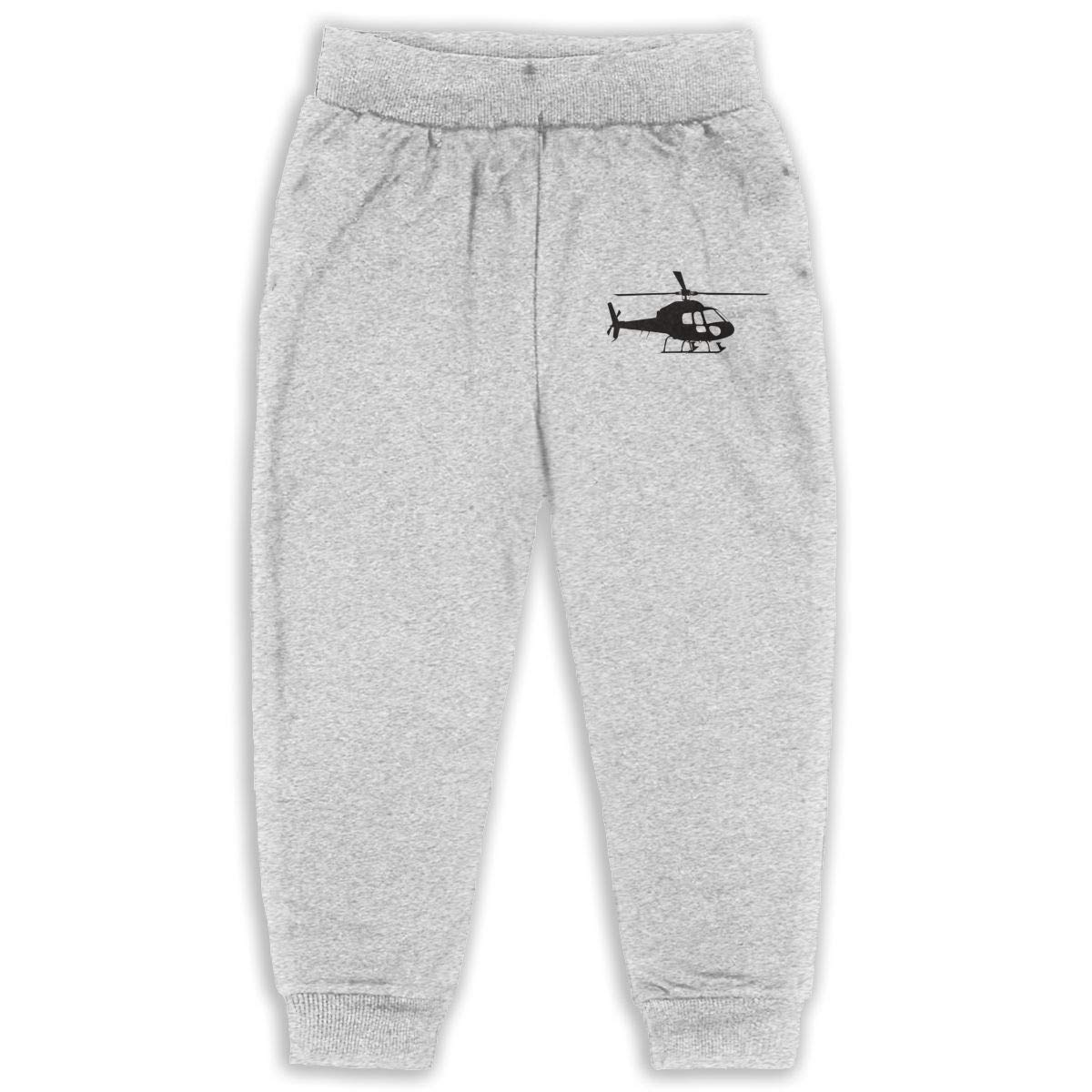 AaAarr Toddlers Helicopter Drawstring Sweatpants for Boys and Girls