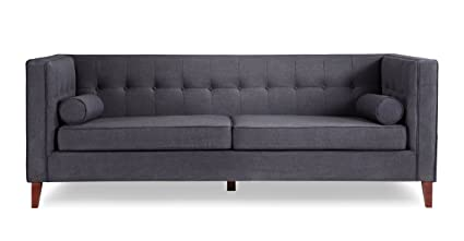 urban modern furniture. Kardiel Jefferson Mid-century Modern Sofa, Urban Ink Twill/Wood Legs Furniture