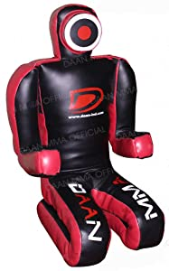 "Best Grappling Dummies - BJJ MMA Grappling Dummy 70"" (XL Version) Synthetic Leather​"