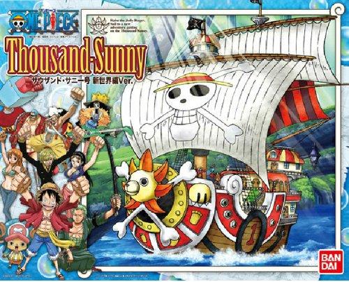 One Piece: Thousand Sunny Ship New World Ver. Plastic Model Kit