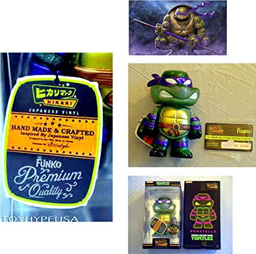 Teenage Mutant Ninja Turtles Donatello LIMITED EDITION 1-IN-3,000 Hikari Japanese Vinyl Figure - Funko / Nickelodeon - Factory-Sealed UNCIRCULATED - Hand-Made, Individually Numbered