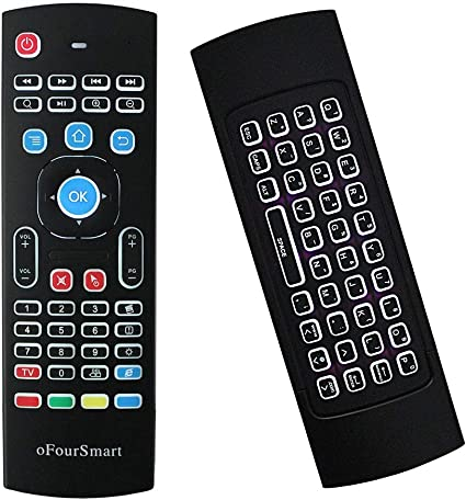 Backlit LED Mini 2.4GHz Wireless Remote Control Fly Air Mouse Keyboard MX3B USB
