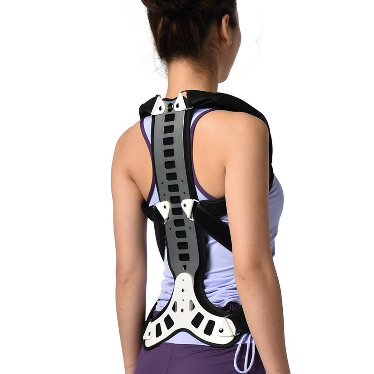 Slimerence Metal Back Posture Corrector, Spinal Brace Support Recover, Humpback Correction, Back Shoulder, Neck Pain Relief, Spinal Cord Posture Support, Adjustable, Periarthritis S