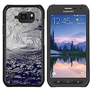 LECELL--Funda protectora / Cubierta / Piel For Samsung Galaxy S6Active Active G890A -- Sunset Beautiful Nature 106 --