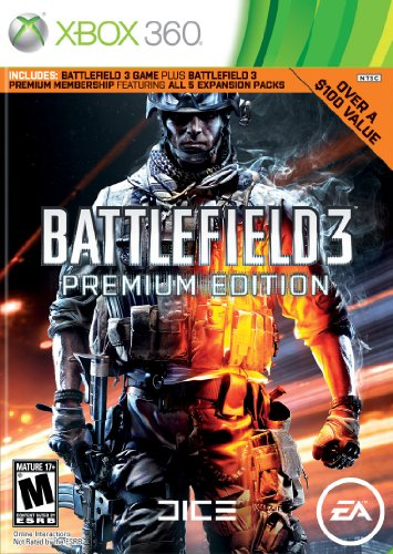 Battlefield 3 Premium Edition -Xbox 360 for sale  Delivered anywhere in USA