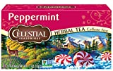 Celestial Seasonings Herbal Tea, Peppermint, 20 Count (Pack of 6)