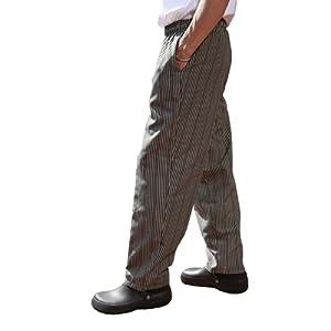 Pantalon de cuisine chef professionnel homme