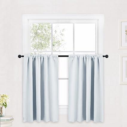 Amazoncom Ryb Home Kitchen Curtains And Valance Set Room