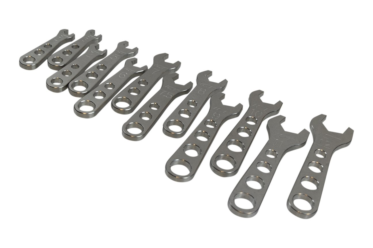 12pc Billet Aluminum AN Fitting Wrench Complete Set 2 - 12AN Wrenches, 551471