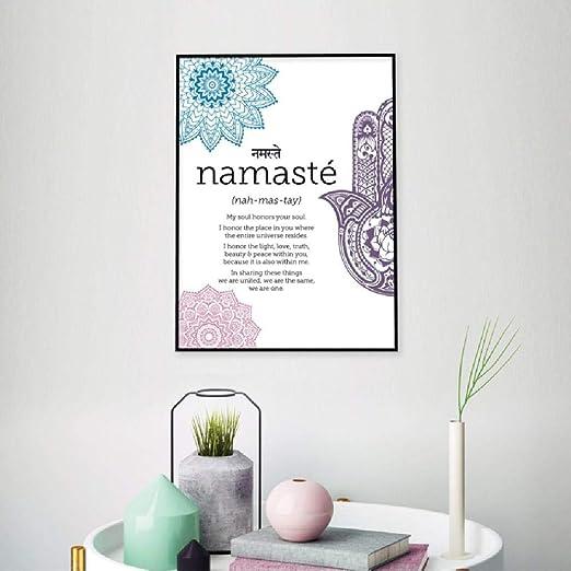 Decoración Inicio Arte Carteles e impresiones Zen Yoga ...