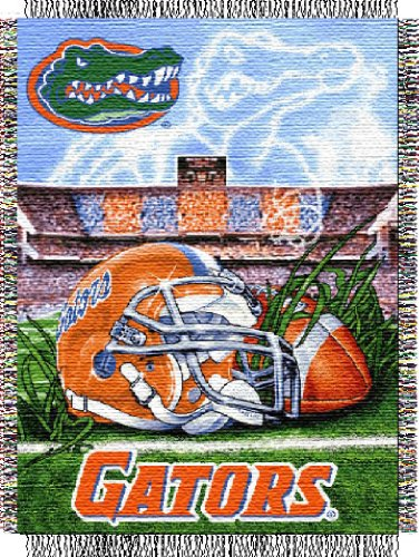 Florida Woven Tapestry - Woven Florida Gators Throw Tapestry