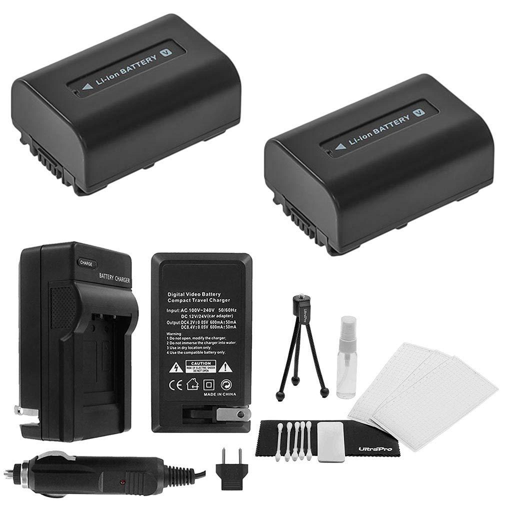 Amazon.com: 2-pack NP-FV30 baterías de repuesto de alta ...