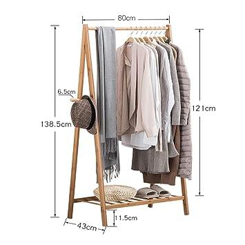 Amazon.com: JiaQi - Perchero de entrada, soporte para ropa ...
