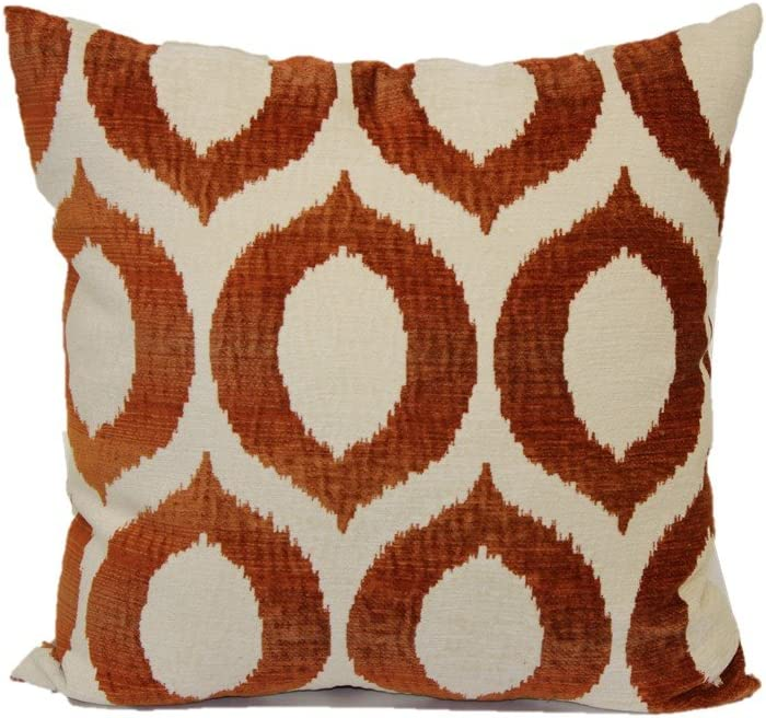 Brentwood Originals Olson 5045 Decorative Pillow, 18 , Guava
