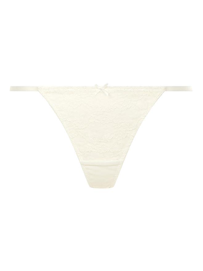 d234b571d706 Ann Summers Amberly, Tanga de Hilo para Mujer Blanco 42 01BTTHAS1656