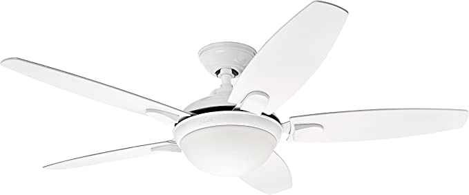 Hunter Fan Contempo Ventilador de techo con luz blanco E27, 20 W ...