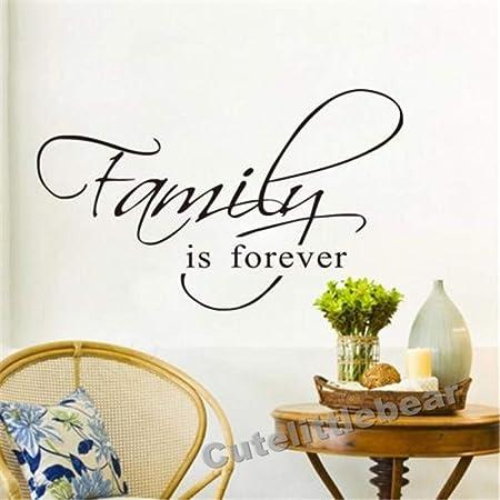 haochenli188 La Familia es para Siempre Arte de la Pared ...
