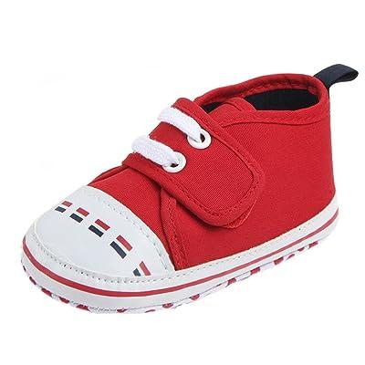 Pour 3-12 mois fille,Transer ® Enfants garçon filles sport chaussures Soft Bottom premiers marcheurs Sneakers
