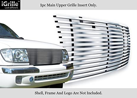 7405a61a99256 Fits 98-00 Toyota Tacoma Stainless Steel Billet Grille Insert #T85463C