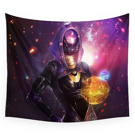 Amazon.com: Society6 Tali\'Zorah Vas Normandy (Mass Effect) Art Wall ...