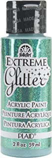 product image for FolkArt Extreme Glitter Acrylic Paint in Assorted Colors (2 oz), 2838, Aqua