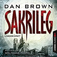 Sakrileg (Robert Langdon 2) Hörbuch von Dan Brown Gesprochen von: Wolfgang Pampel