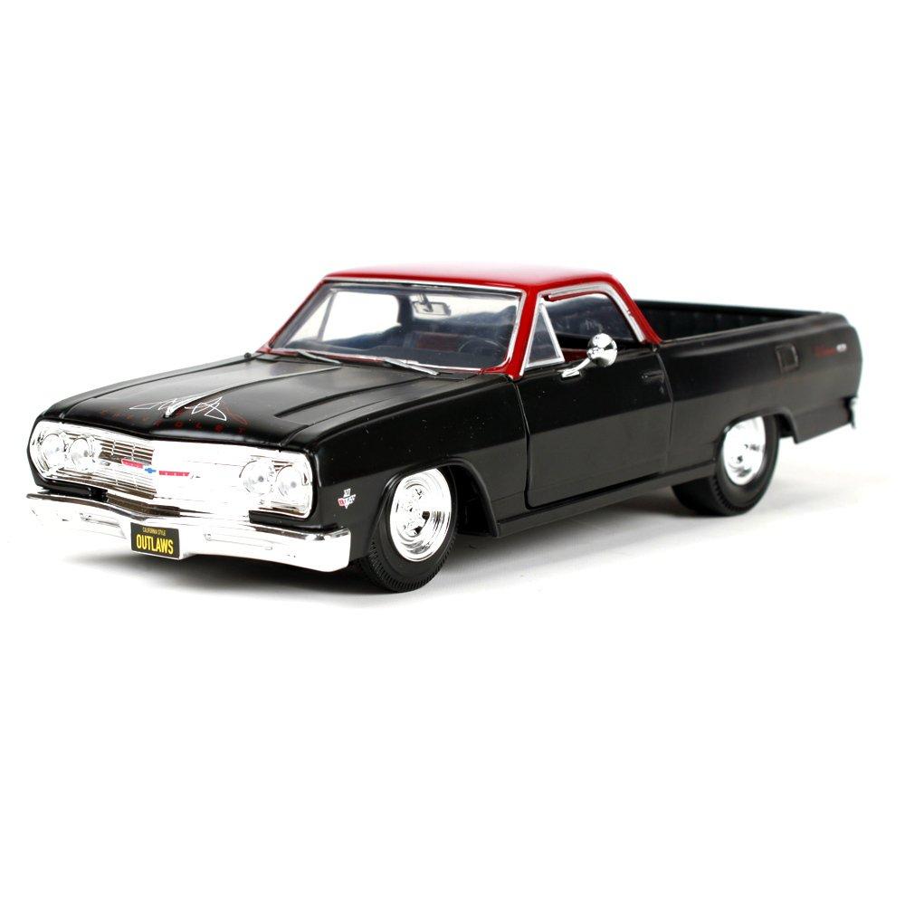 Penao 1965 Chevrolet El Camino Aleación de Simulación Modificado Modelo del Coche, Coche de Metal Adornos, Relación 1:24