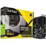 Zotac GeForce GTX 1050 Ti Mini OC ZT-P10510F-10L with Dual DVI-D, HDMI, DP, 4GB 128BIT GDDR5 Graphics Card