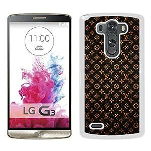 Louis Vuitton 23 White New Design Phone Case For LG G3 Case
