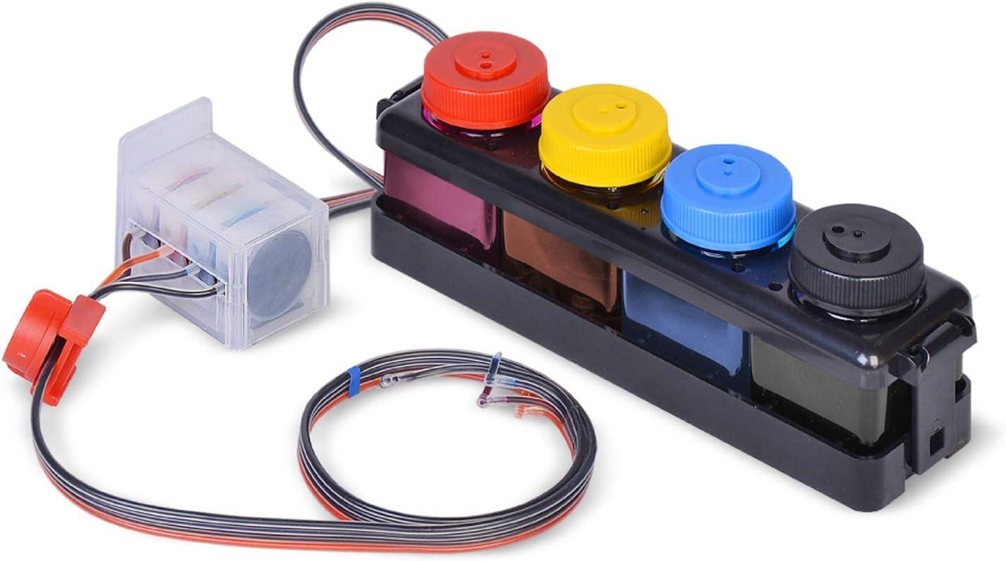 Wonderink CISS DIY 300ml Compatible with HP64 HP ENVY7100 7120 ENVY7130 ENVY7155 7800 ENVY7820 7855