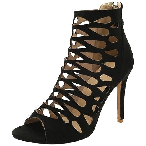 Et Chaussures Taoffen Toe Sandales Peep Femmes Sacs pXffw4Iqx
