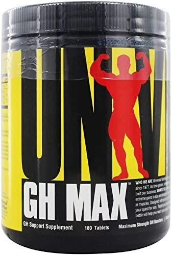 Universal Nutrition GH Max Superior GH Support Formula 180 Tablets