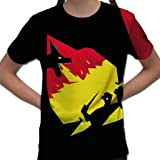 BANG TIDY CLOTHING St George's Day T Shirts for Girls Dragon Fire Graphic All Over Print Kids T Shirt Graphic Printed Girls Tees Saint Georges Day Sublimation English Tshirt