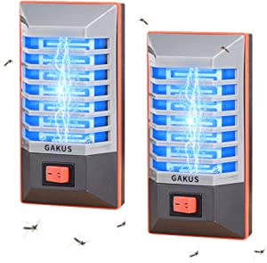 GAKUS 2020 Bug Zapper,Mosquito Killer lamp Insect Trap,Mosquito Blue Light for Backyard,Patio Bedroom, Kitchen, Office Electronic Insect Killer with LED Light