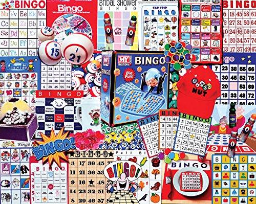 White Mountain Puzzles Bingo - 1000 Piece Jigsaw Puzzle