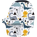 Nursing Cover Breastfeeding Cover, Stretchy Car Seat Cover for Babies, Soft Breathable Infant Carseat Canopy, Shopping…