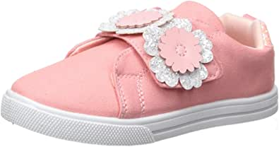 OshKosh B'Gosh Blanche Girl's Embellished Casual Sneaker, Coral