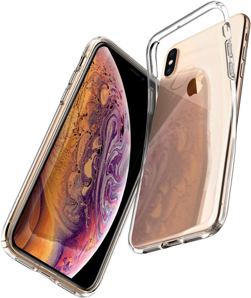Spigen Liquid Crystal Designed for iPhone Xs Case (2018) / Designed for iPhone X Case (2017) - Crystal Clear