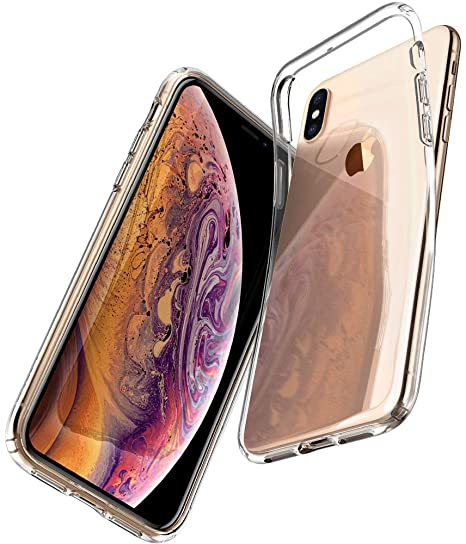 new product 68b3e dfea4 Spigen Liquid Crystal Designed for Apple iPhone Xs Case (2018) / Designed  for Apple iPhone X Case (2017) - Crystal Clear