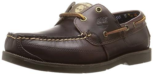 Hombres-timberland-guardianes De La Tierra-kia-wah-bay-barco-calzado-marrón Chocolate eWGxX