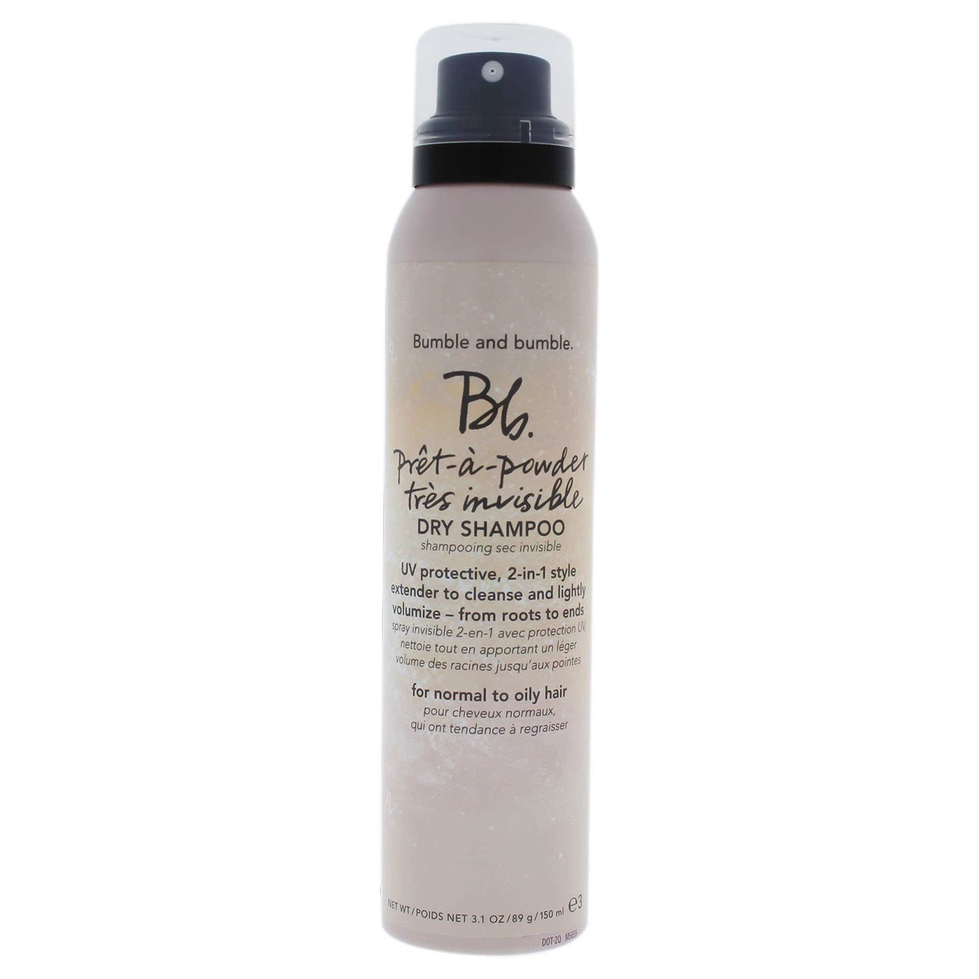 Bumble and Bumble Pret-a-Powder Tres Invisible Dry Shampoo, 3.1 Ounce by Bumble and Bumble