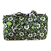 Vera Bradley Large Duffel (Lucky You with Navy Interior)