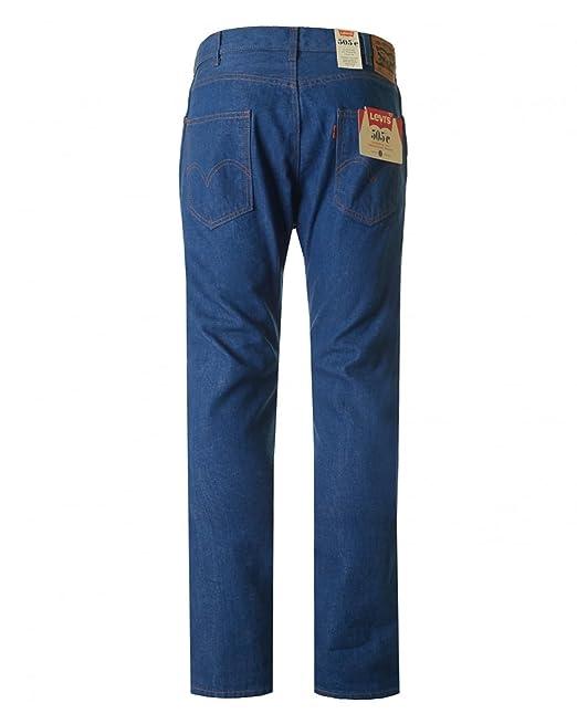 244b25272df Levi's Mens Mens 505 Orange Tab Slim Fit Jeans in Blue - 38L: Levis ...